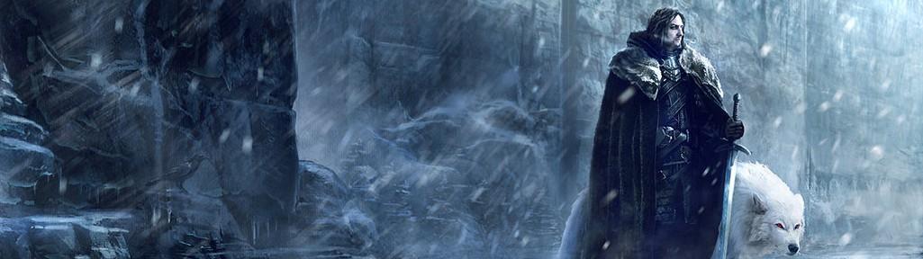 INFORMACIÓN: Razas Game-of-thrones-fan-art-jon-snow-north-of-the-wall-e1412013382475